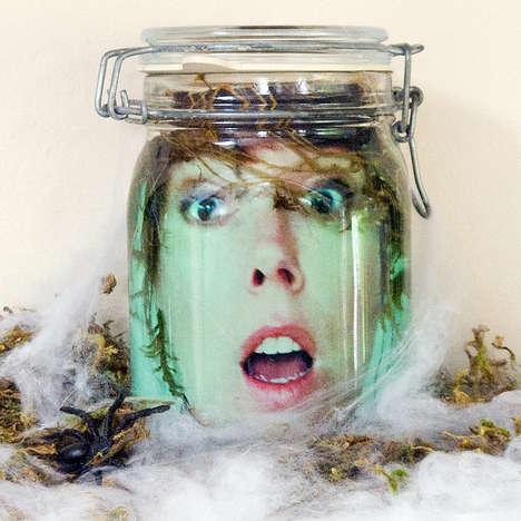 Floating Face Jars