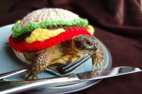 Cheeseburger Tortoise Cozies