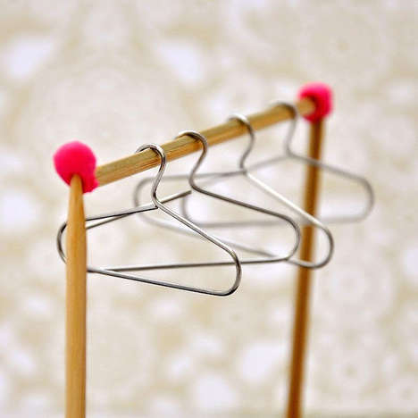 Paperclip Doll Hangers