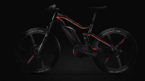 Carbon Fiber Electric Bikes