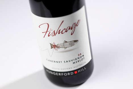 Fishy Wine Branding