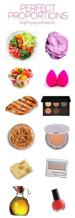 Makeup Meal Charts