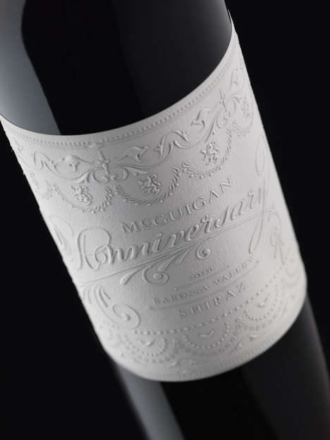 Frosting-Inspired Wine Labels