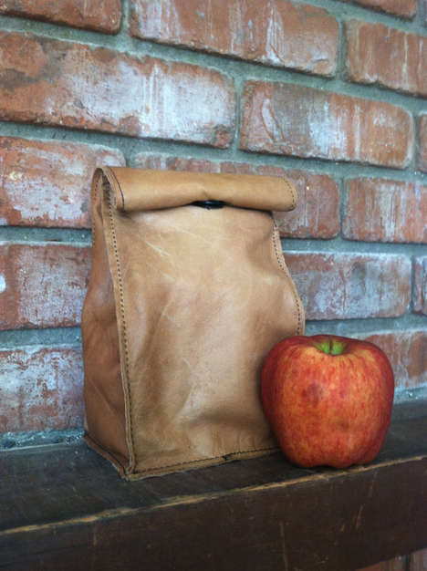 Leather Lunch Bags