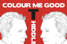Villainous Coloring Books - The Colour Me Good Tom Hiddleston Book is the Latest Addition