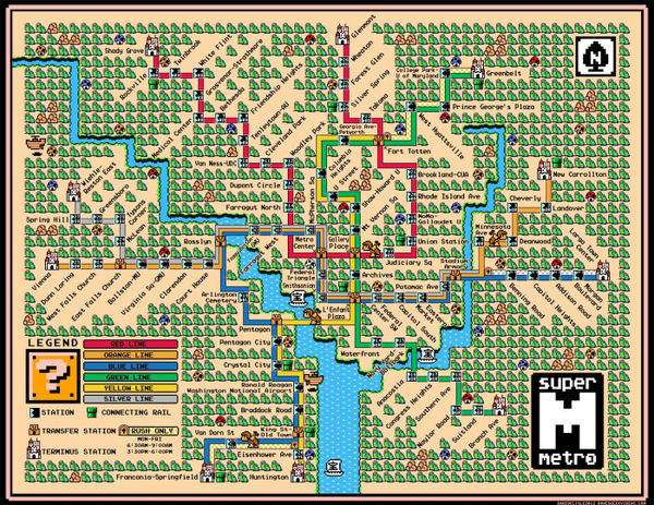 25 Transit Map Design Finds