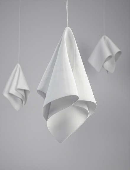 Folded Napkin Illuminators