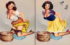 Disney Princess Pin-Ups