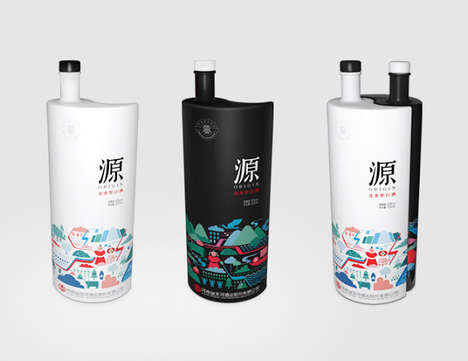 Balanced Yin-Yang Bottles