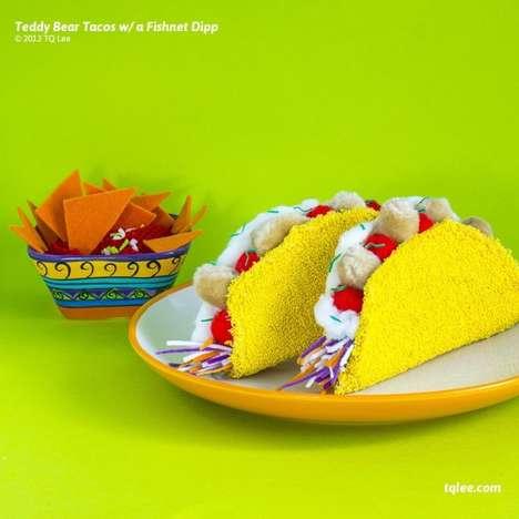 Inedible Food Photography