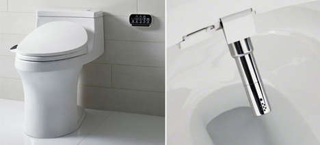 Bidet-Fitted Toilet Seats