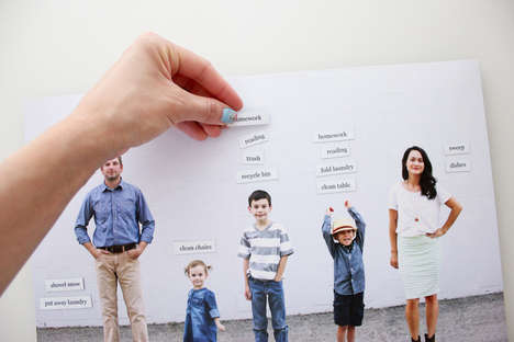 Photographic Chore Boards