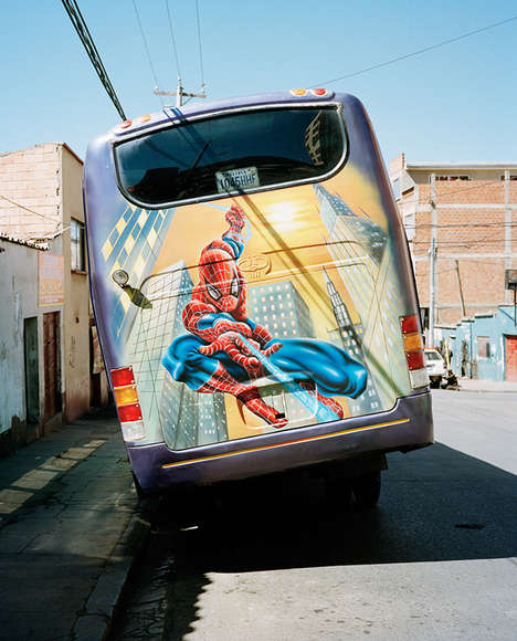 Airbrushed Bus Photography