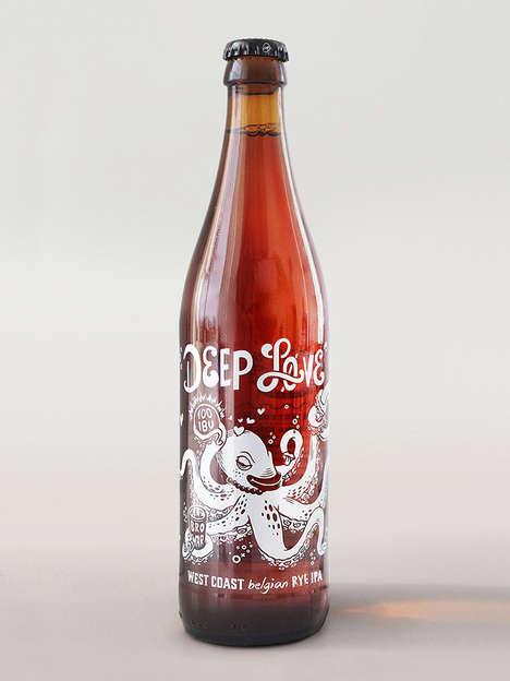 Label-Free Beer Branding