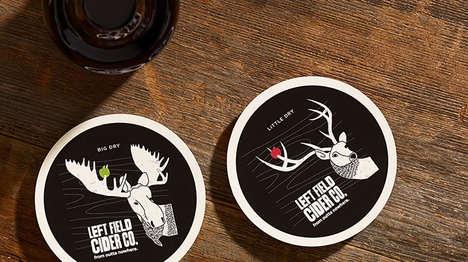 Masculine Cider Branding (UPDATE)