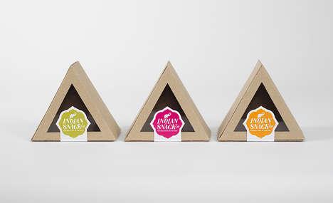Triangular Boxed Branding