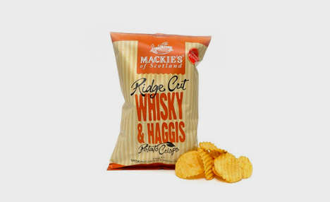 Whiskey Potato Chips