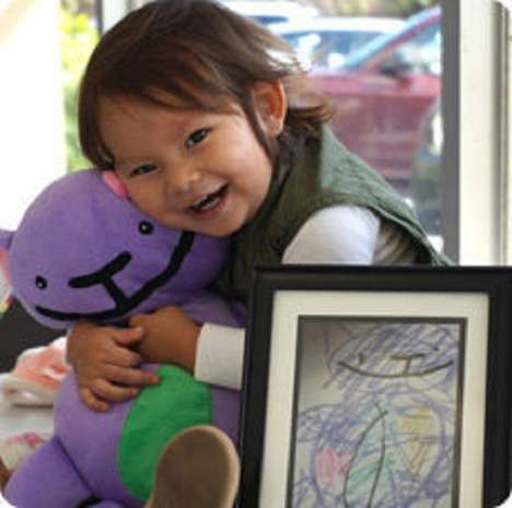 Art-Inspired Plushies - Budsies Makes Your Child's Artwork Come to Life