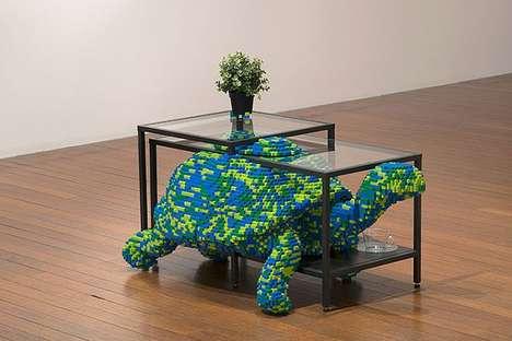 Artisan LEGO Furniture