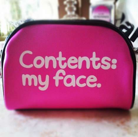 Candid Cosmetic Bags