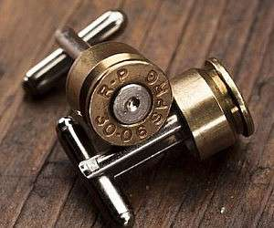 Beguiling Bullet Cufflinks