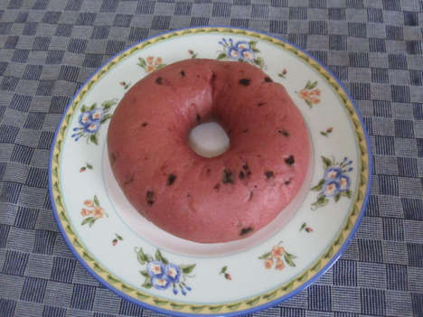 Summery Watermelon Bagels