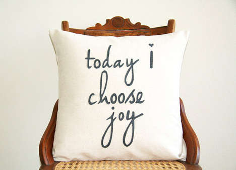 Motivational Couch Cushions