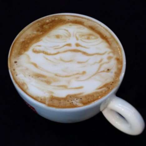 Galactic Latte Art