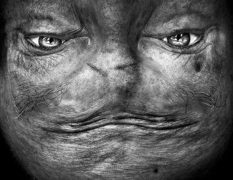 Alien-Like Portraits