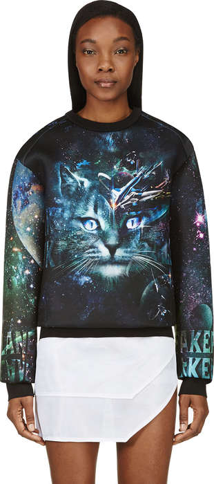 Cosmic Cat Sweatshirts