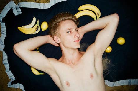 Fruit-Obsessed Model Candids
