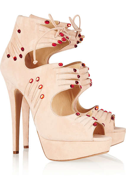 Handy High Heels - Hands On by Charlotte Olympia is Chic and Creepy