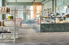 Elegantly Topographic Eateries - The Finefood Karlek Och Mat Restaurant Design is Landscape-Themed