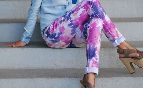 DIY Tie-Dye Denim - These Homemade Tie-Dye Jeans Cost Next to Nothing to Make
