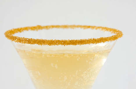 Gilded Cocktail Garnishes