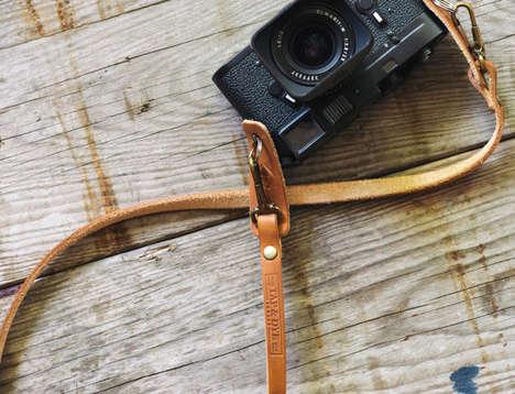 Handmade Leather Camera Straps