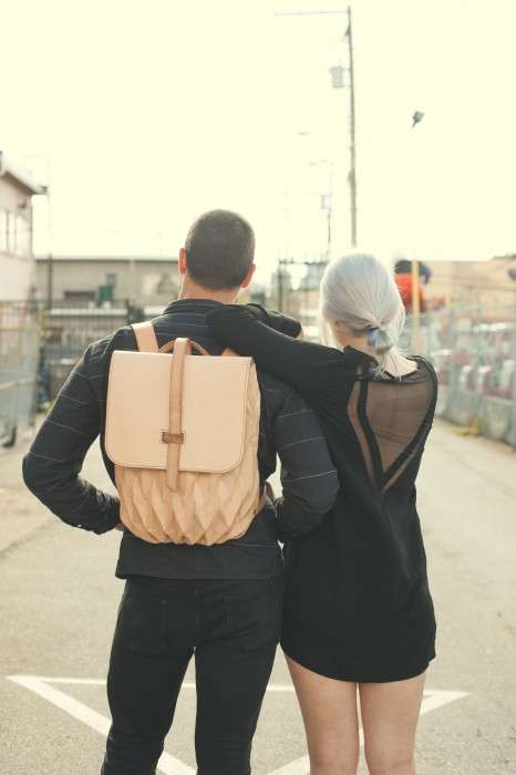Hipster Origami-Like Bags - Steven Enns' Transfold Backpack Expands to Fit Your Needs
