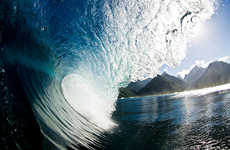 Surfing Wave Photos - These Photos of Surfing Waves Are Stunningly Gorgeous