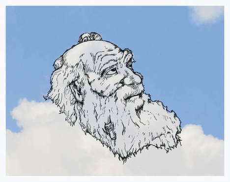 Whimsical Cloud Illustrations
