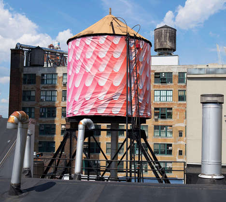 The Water Tank Project Revamps Elements of New York City