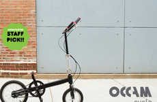 Easy Folding Bikes - The Occam Cycle by Great Scott Technology Requires Only One Fold