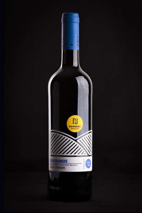 Sunrise-Inspired Wine Branding