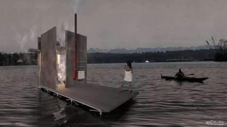 Floating Saunas