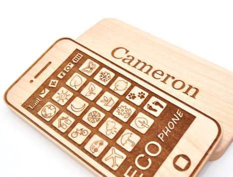 Deceptive Wooden Phone Toys