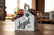 Drinkable Marijuana - Mirth Provisions Creates a Cannabis-Infused Drink Line Called Legal