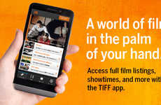 Film Festival Apps - The Toronto International Film Festival App Puts Films in the Palm of Your Hand