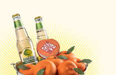 Deceptive Cider Buckets - Somersby's Promotional Ice Bucket Disguises Apples as Oranges