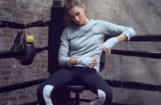 Focused Supermodel Fitness Ads - Gisele Bundchen's Under Armour Ads See Her Tune Out the Haters