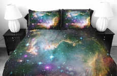 Celestial Galaxy Bedsheets