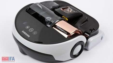 Powerful Robotic Vacuum Cleaners